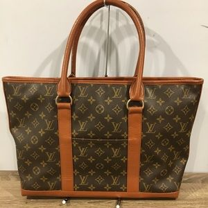 Authentic Louis Vuitton sac shopper
